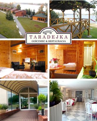 Außergewöhnliches Hotel in Polen Gasthaus Taradejka Karte