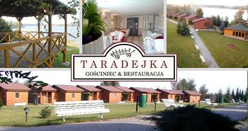 Außergewöhnliches Hotel in Posen Gasthaus Taradejka